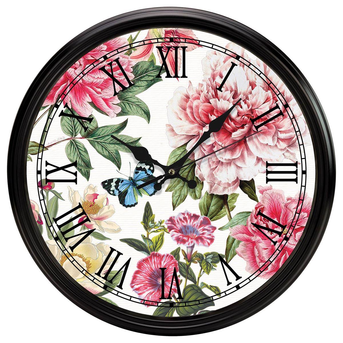 Michel Design Works Kitchen Clock Peony