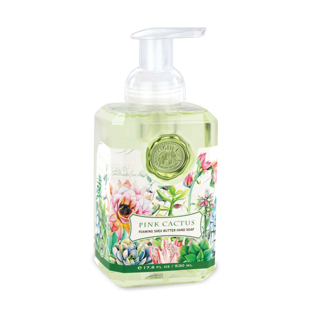 Foaming Hand Soap By Michel Design Works Pink Cactus