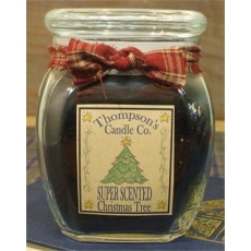 Christmas Tree Jar Candle
