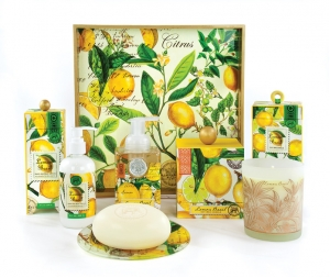 Michel Design Works Lemon Basil Collection