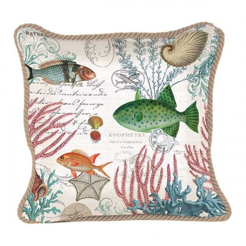 Michel Design Works Square Pillows Sea Life