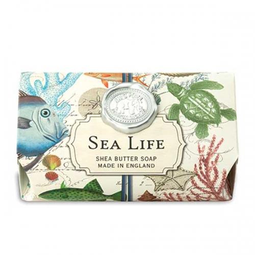 Michel Design Works Large Bath Soap Bar Sea Life