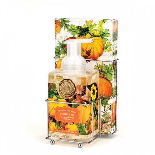 Pumpkin Pie Foaming Soap Napkins Set By Michel Design Works